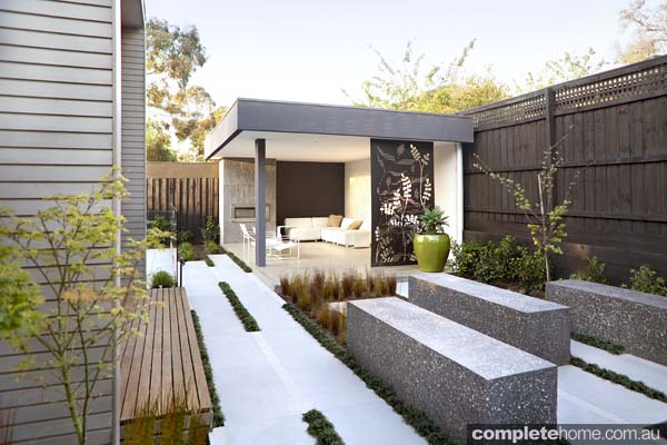 Straight and narrow: Intelligent garden design - Completehome on Patio Designs For Straight Houses id=21861