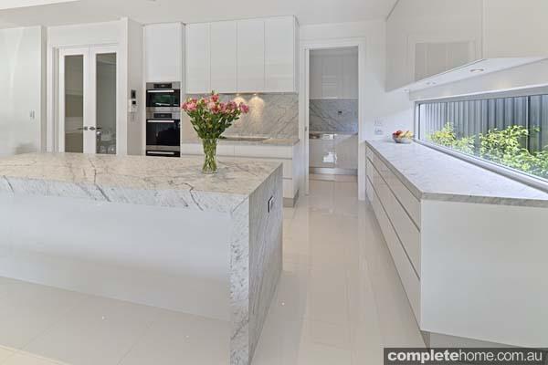 Carrera white kitchen - white and bright space