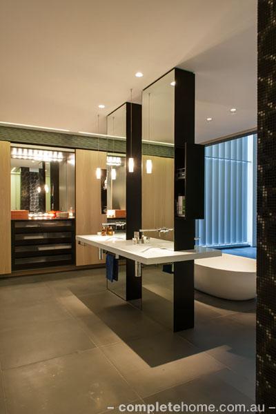 hollywood style bathroom design
