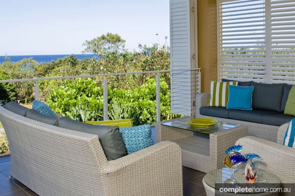 John Croft seaside home design - balcony views