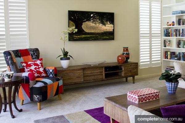 John Croft seaside home design - timber furniture