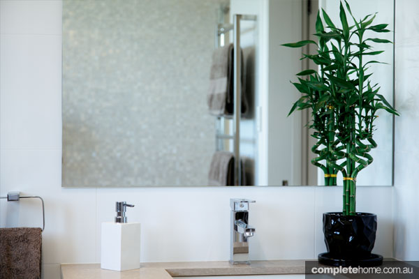 Designline Kitchens and Bathrooms - towel racks and basin