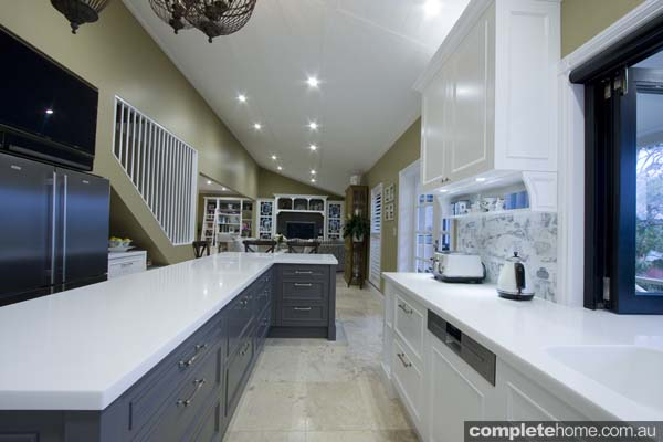 Garsden and Clarke kitchens - spacious kitchen design