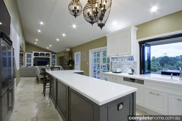 Garsden and Clarke kitchens - classic kitchen island