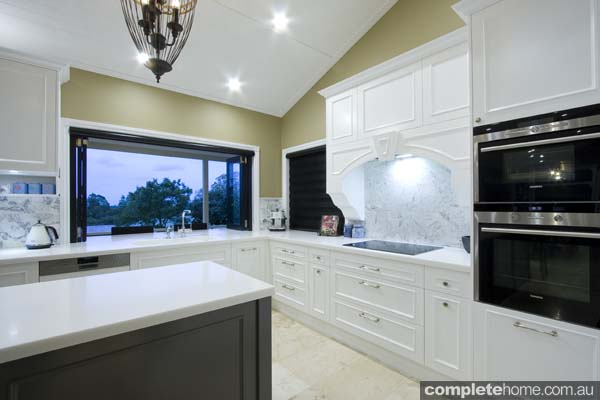 Garsden and Clarke kitchens - white and grey cupboards