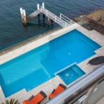 Habour-side project: A simple and effective pool design