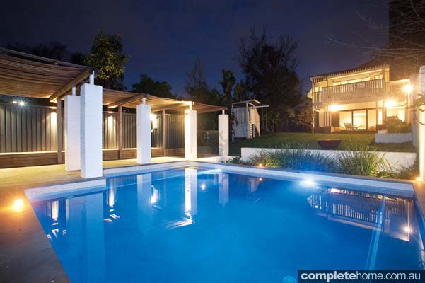 Pool Designed From Contrasts Completehome