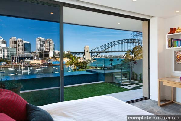 Crystal pools - gorgeous Sydney harbour-side pool