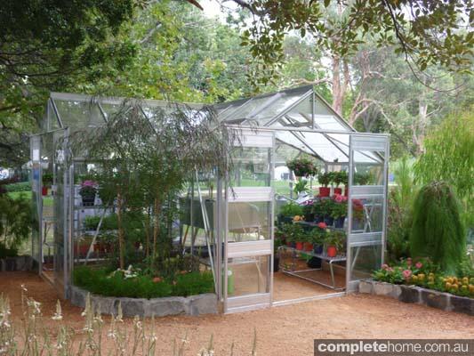 stylish greenhouse