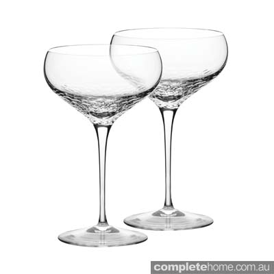 sequinned champagne glasses chic and sophisticated