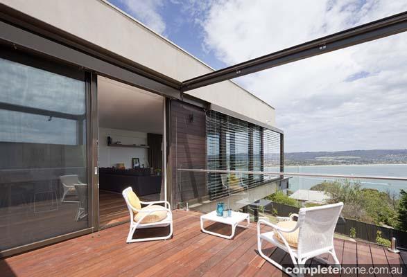modern outdoor room design