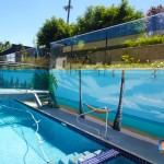 Outdoor project: stunning glass bridge