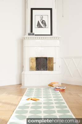 geometric style interior  rug