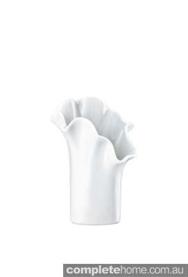 elegant white vase