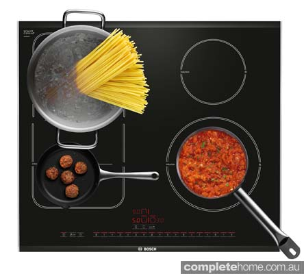 contemporary cooktop
