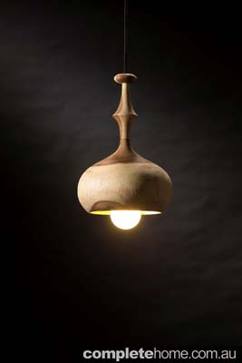 eco wood pendant lights