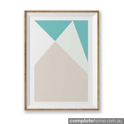 ABSTRACT_GEOMETRIC_POSTER_BLUE