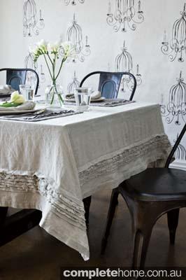 linen tablecloth homewares