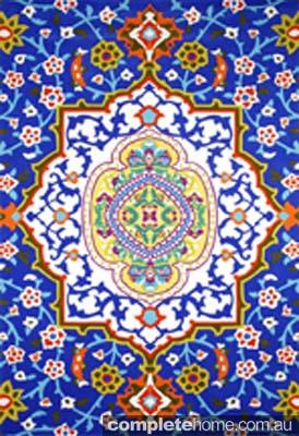 motif style designer rug