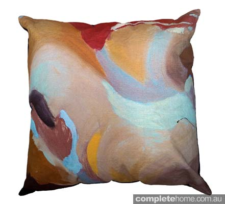 Chloe planinsek designs - muted cushion
