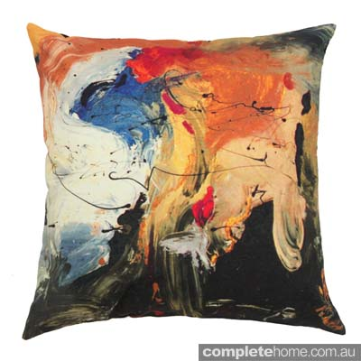 Chloe planinsek designs - gorgeous abstract cushion