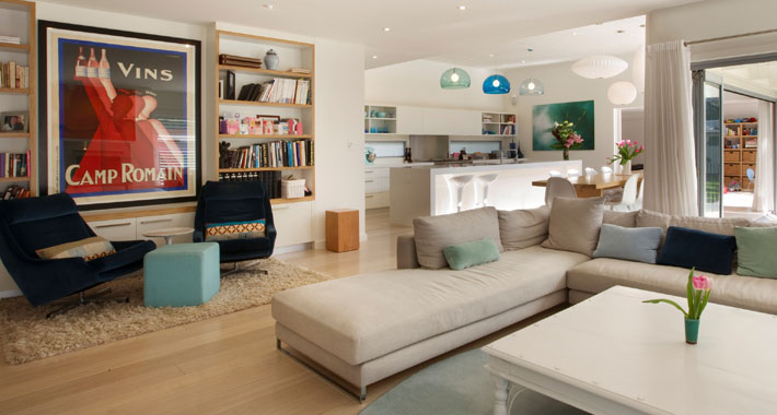 Open plan Interior design