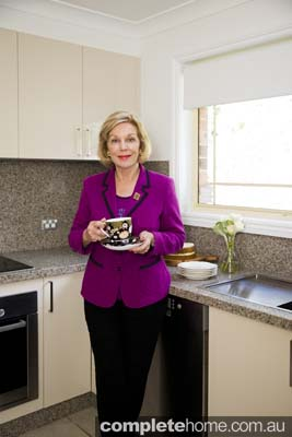Ita Buttrose in the kitchen