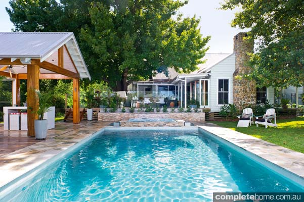 Great ideas for the great outdoors completehome for Pool design eltham