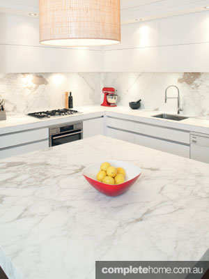 Art of Kitchens - marble benchtop