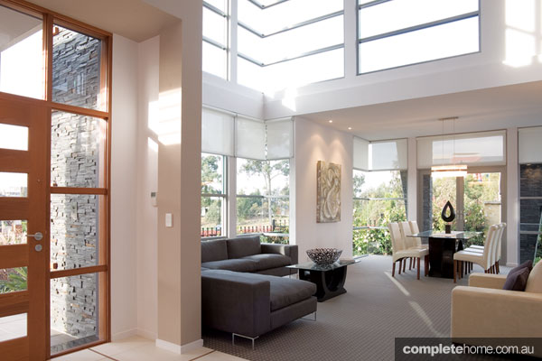 Aspect Design foyer design