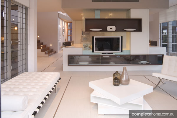 Aspect designs open plan interior