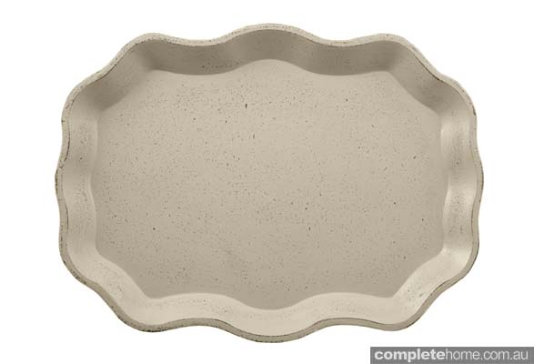 taupe tray