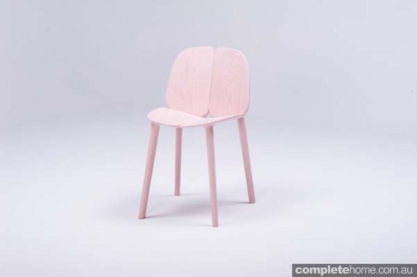 osso pink contemporary design chair