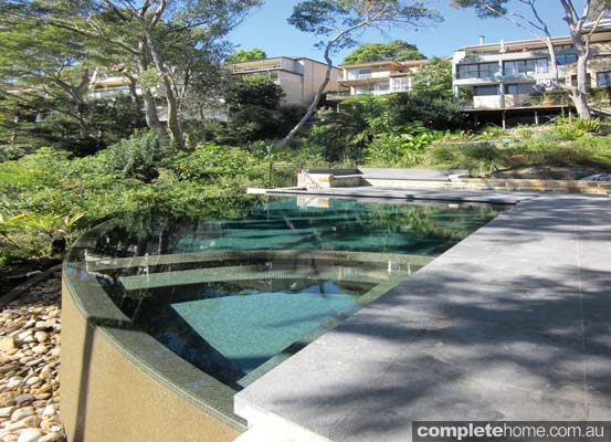 bushland pool design