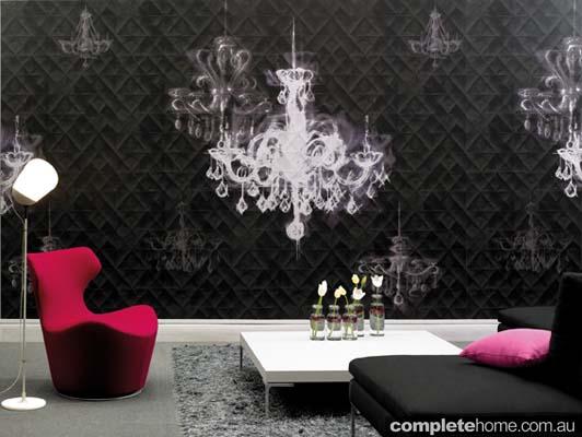 chandeler wallpaper motif
