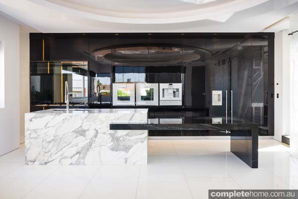 Kitchen, Modern, Marble