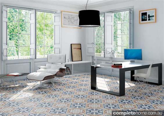 Vanguard 19th century style tiles