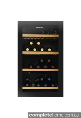 freestanding modern wine cellar