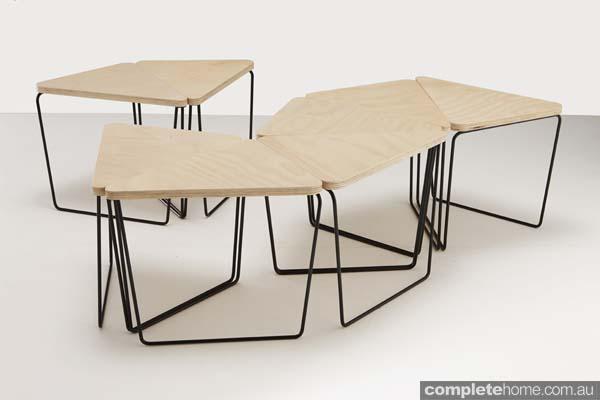 fractal table modular style