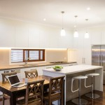 Spacious kitchen design