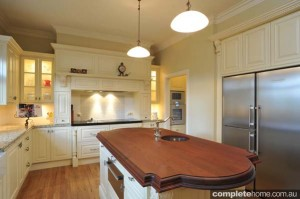 heritage style kitchenh cream cupboards