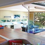 Integrating outdoor and indoor entertaining spaces