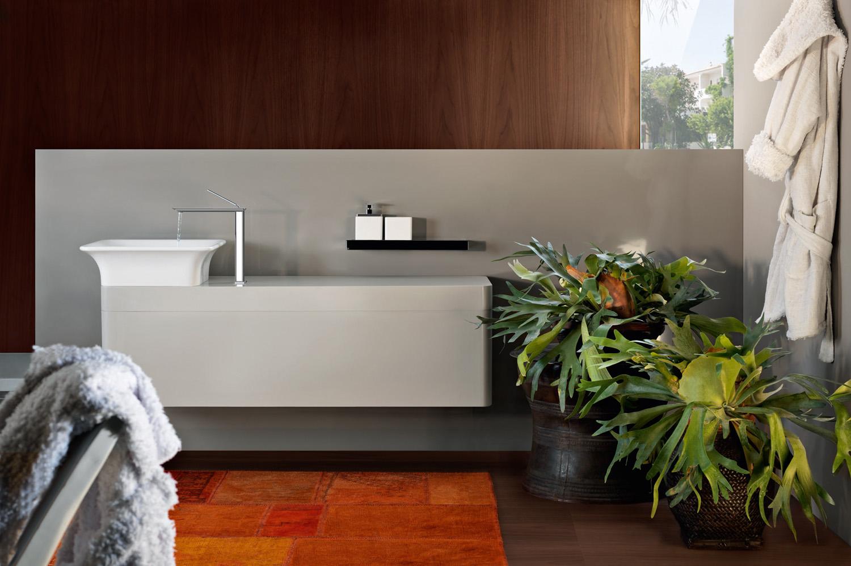 A stylish and sexy bathroom