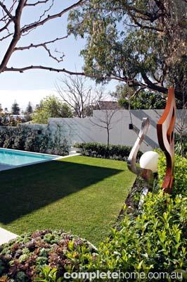 coastal living garden sculpture