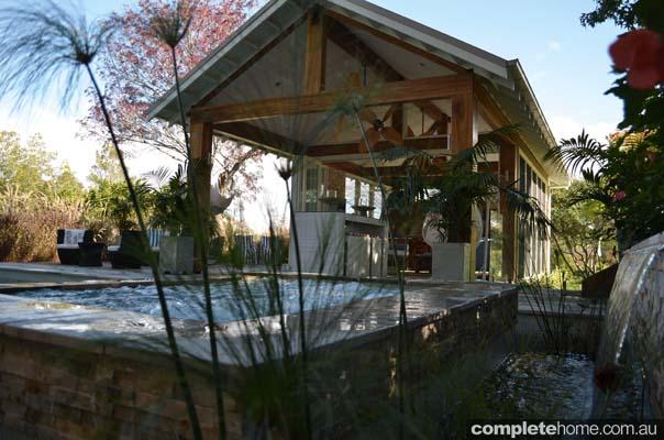 cabana pool and garden designs