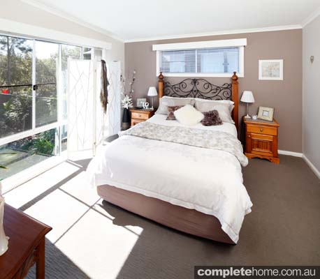 parkwood modular design neutral coloured bedroom