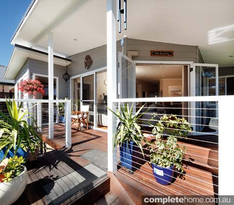 parkwood modular design timber decking and verandah area