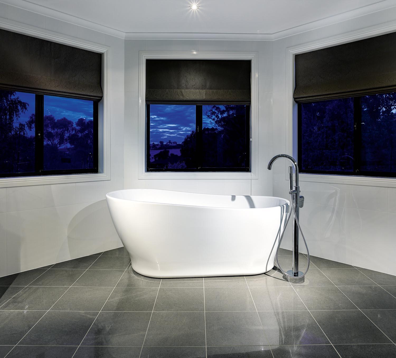 Luxury ensuite bathroom design