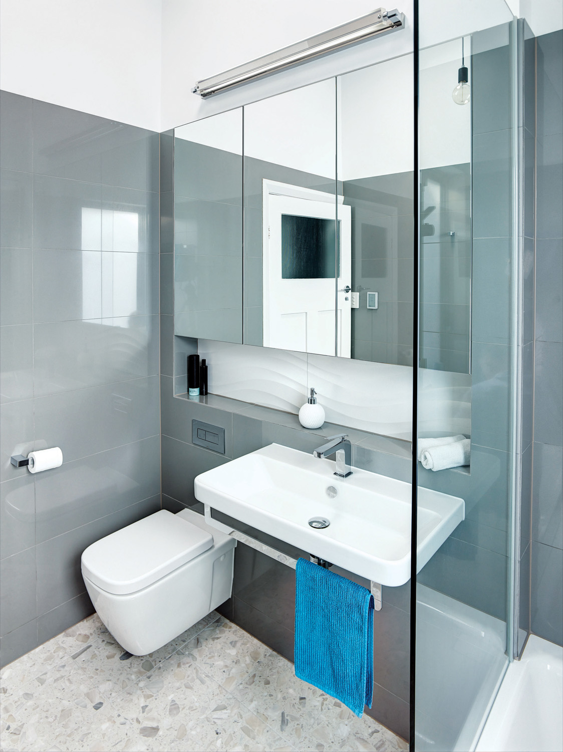 Award winning futuristic bathroom design completehome for Award winning bathroom designs
