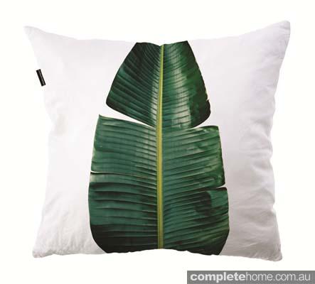 ClintonFreidman banana leaf cushion